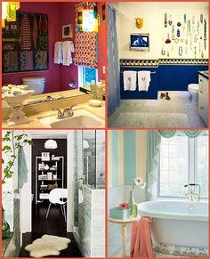 Bohemian Bathroom Decorating Ideas | Grevty Designs