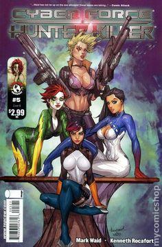 Cyberforce - Hunter Killer by Kenneth Rocafort Dc Comics, Image Comics, Comics Girls, Comic Book Artists, Comic Artist, Comic Books Art, Book Cover Art, Comic Book Covers, Comic Character