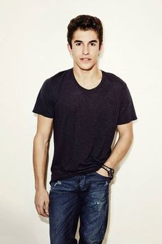 Marc Marquez: Spanish motorcycle road racer, MotoGP world champion at age 20.