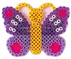 HAMA maxi Bügelperlen-Stiftplatte klar Nr.8218 Schmetterling