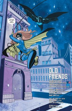 Batwing in Batgirl - Babs Tarr Nightwing And Batgirl, Batgirl And Robin, Batwoman, Barbara Gordon, Tim Drake, Babs Tarr, Dc Comics Characters, Batman Family, Marvel