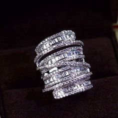 Zircon Ring JHZ-268 USD52.24, Click photo to know how to buy / Contact me for discount, follow board for more inspiration