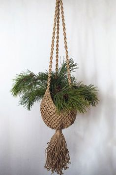 Macrame Plant Hanger. by NatalieKnot on Etsy