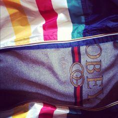 OBEY meets The Bay X K-Way #stylin #streetwear #fashion