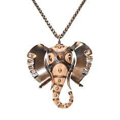 Embellished Elephant Choker | LANVIN