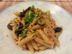 Home cook food - : Penne Pasta in Jalapenos Cream Sauce