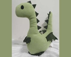 Dragon stuffed animal. Pattern on etsy but seems pretty straightforward to figure out