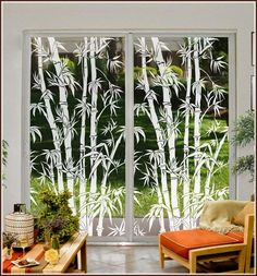 New Home Design with a Decorative Window Film