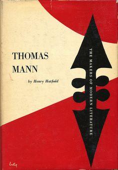 Thomas Mann book jacket design by Alvin Lustig by Scott Lindberg, via Flickr
