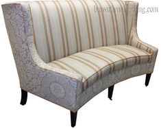 Interior: Charming Curved Banquette Seating 92 Bench For Prepare 7 In Curved Banquette Bench Plan Banquette Bench, Curved Bench, Bench Plans, Bench Seat, Cool House Designs, Round Dining Table, Cd Project, Armchair, Couch