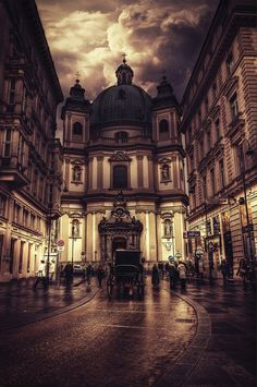 Vienna... The number one place I want to travel to. I'm not sure why... I just have a feeling that I might possibly fall in love.