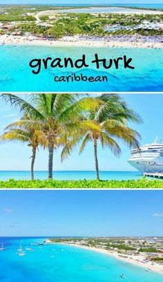 Outdoor Travel ideas Caribbean cruise tips. things to do on a cruise to grand turk cruise port one day in turks and caicos. Hawaii Vacation, Cruise Vacation, Beach Trip, Vacation Trips, Vacation Travel, Beach Travel, Shopping Travel, Vacations, Disney Cruise Tips