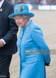 Queen Elizabeth II at the Royal Windsor Horse Show, which is held in the grounds of Windsor Castle in Berkshire. (Photo by Steve Parsons/PA Images via Getty Images)