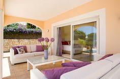 Lounge Area designed by Knox Design in Villa Santa Ponsa