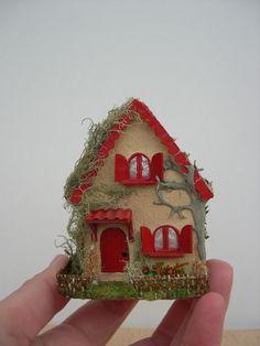 Casa de muñecas---miniaturas--casita escala 1/144 de Cantimpalominiaturas en Etsy