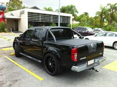 Nissan Navara D40 Lowered