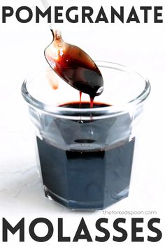 This Pomegranate Molasses Recipe is sweet, tangy, and made with just three simple ingredients. Learn how to make your own homemade pomegranate molasses at home and enjoy this essential Middle Eastern ingredient in stews, dips, dressings, or drizzled over desserts. Pomegranate Sauce, Pomegranate Molasses, Roasted Carrots, Roasted Vegetables, Vegan Desserts, Vegan Recipes, Vegan Food, Food Food, Cooking With Dates