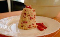 """Sabor en cristal: Cooking for """"Torpes"""" Nº 68Cous cous con pimientos y bonito"""