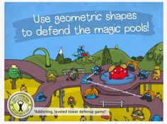 The Land of Venn - Super Fun Approach to Teaching Geometry on iPads & iPhones