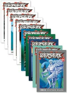 Berserk Graphic Novel Holiday Bundle 3 (21-30) - Price:$74.99 #RightStuf2013 #RightStuf2014