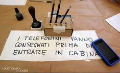 Vietato portare il cellulare in cabina elettorale e se fotografate la scheda elettorale pagate 15.000 euro