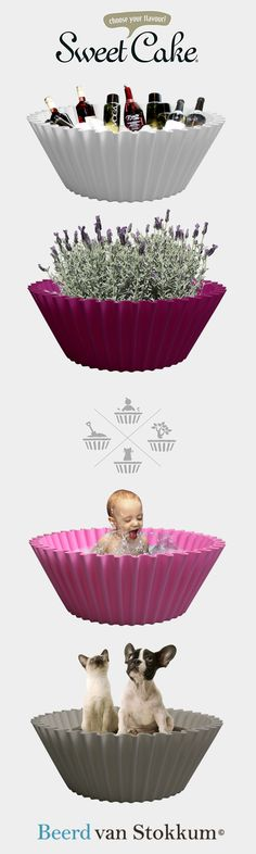 Not for the large appetite but it can be used as a baby's bath, flower box, ice bucket or garden pot and a nice basket for a dog or cat. Choose your flavour!