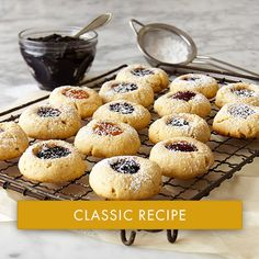 Thumbprint Jam Cookies