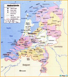 Maps Of Netherlands Complete Colection Of Maps Of The World C In 2020 Map Netherlands Map Continents And Countries