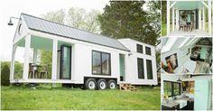 Perch & Nest veröffentlicht neueste Familiengröße winziges Bauernhaus auf Rädern  #bauernhaus #familiengro #neueste #perch #radern #veroffentlicht #winziges