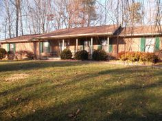 Wonderfully well-maintained all brick rancher on almost 2 acres. Only the 2nd owners-this spacious home with new floors 5 yrs ago, 3 yr old roof; updates in kitchen including 1 yr old dishwasher;Home appraised & property surveyed in Jan 2015; walk-in shower in Mbth w/ his & her MBR closets; plenty of storage space; oversized 2 car garage;sec system;central vac; 19x11 sunroom off kitchen/eat in area. This home has it all-quality;space;acreage privacy & great convenient location! $264,900