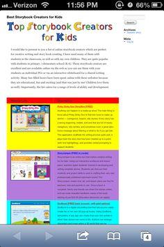 Best Storybook Creators for Kids