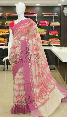Pink saree......