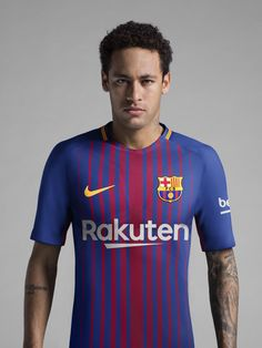 The new FCB home kit is defined by an updated interpretation of the  traditional Blaugrana stripes and Aeroswift technology ffc8f6a209dd7
