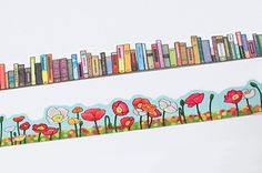 yano design Die Cut Washi Masking Tape  Books / by chickippie, ¥540