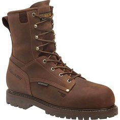 CA9528 Carolina Men's Insulated WP Safety Boots - Cigar