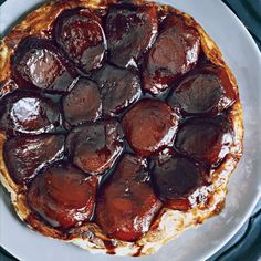 Instead of apple pie, Shawn McClain ends his Thanksgivings with this stunning tarte Tatin. Because the recipe calls for store-bought puff pastry (McCl...