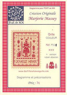 MARJORIE MASSEY - Saison Hiver (FS18) - Des Filles et une Aiguille