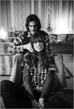 James Taylor and Carly Simon...I grew up listening and dancing to their music. Wish I had lived through the 70's.