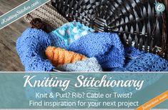 Knitting Stitch Library Title