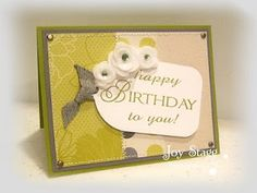 Made by Joy Stagg using Big Birthday Wishes by OCL