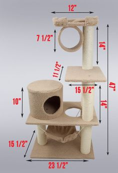 Best Cat trees and Scratching post - http://amzn.to/2h50xSk