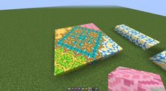 Found a nice pattern while trying to combine different terracotta blocks via /r/Minecraft Minecraft Floor Designs, Minecraft Pattern, Minecraft Blocks, Minecraft Interior Design, Cute Minecraft Houses, Minecraft Plans, Minecraft Construction, Minecraft Architecture, Minecraft Blueprints
