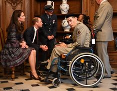 William and Kate met victims of terror attacks and Second World War veterans at a military hospital