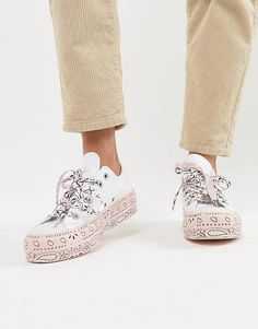 converse all star ricamate