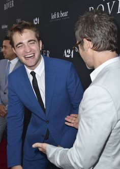 Pin for Later: Robert Pattinson Shows Off His Silly Side at the Rover Premiere