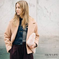 """""""Danish blogger and style icon Trine Kjær of @trineswardrobe styles her favourites from #HM's autumn collection, and discusses guilty pleasures – at…"""""""