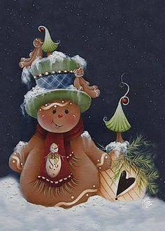 .a gingerbread snowman?