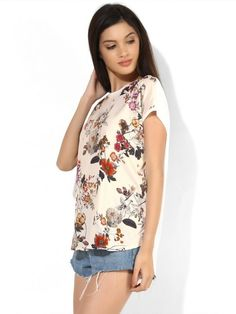 e2102197ceb7 Buy United #Classic Blush Pink Floral #Top #Online India - Shyaway.com