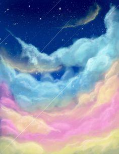 Simple sky painting