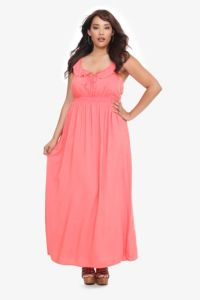 Coral Crochet Back Sleeveless Maxi Dress | Sun Kissed. Obsessed with this dress! WANT!!!